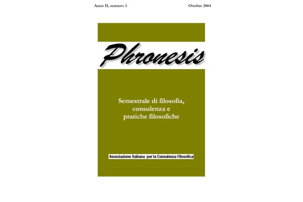 Anno II, numero 3, 2004
