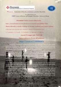 Martedì 19 Maggio 2020 Phronesis e CRIF in videoconferenza